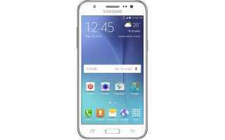 Samsung Galaxy J5 — Как сделать hard Reset и Soft Reset