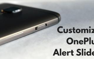 Как настроить ползунок оповещения на OnePlus 3 / 3T
