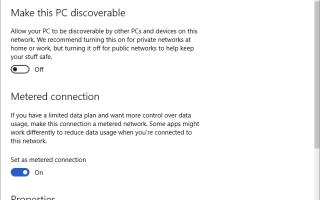 Что такое Metered Wi-Fi соединение и как его установить в Windows 10