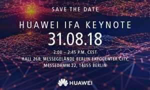 Дата и время конференции Huawei IFA 2018 просочились, Кирин 980 в витрине и Мате 20 позже