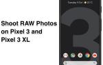 Google Pixel 3: Как снимать фотографии в формате RAW / DNG