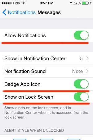 how_to_hide_text_message_iphone5