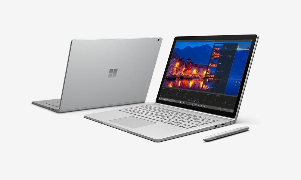 Спецификации Microsoft Surface Book