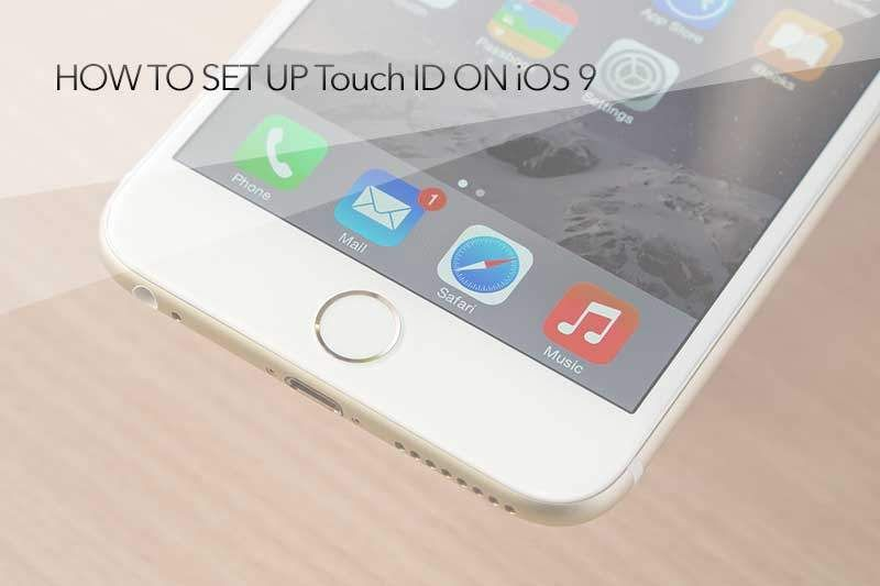 Как использовать Touch ID на iOS (iPhone 6s, 6s Plus, iPad Air, Mini)